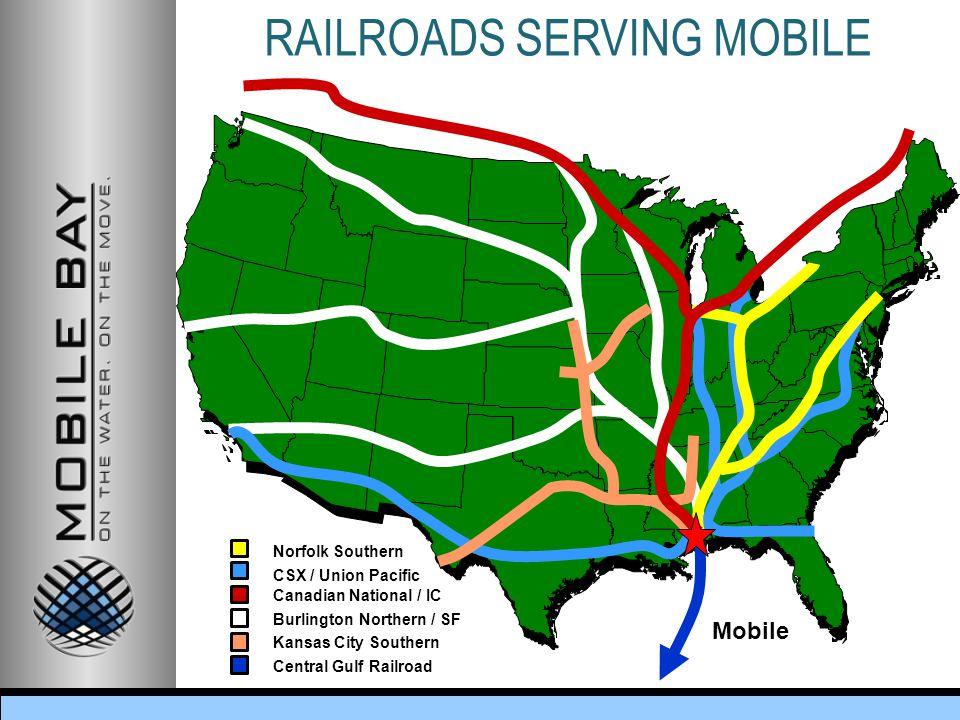 RAILROADS SERVING MOBILE
