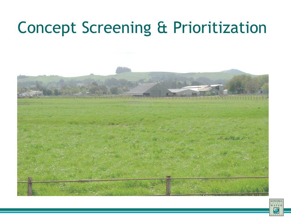 Concept Screening & Prioritization