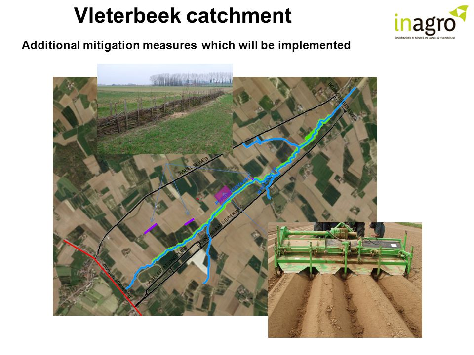 Vleterbeek catchment Additional mitigation measures which will be implemented