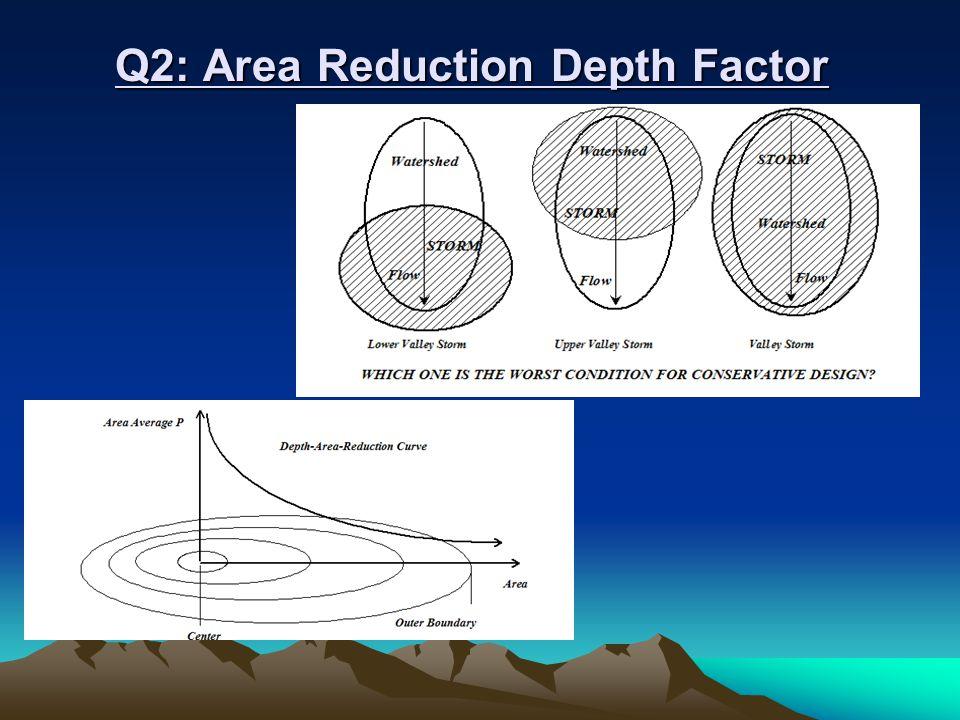 Q2: Area Reduction Depth Factor