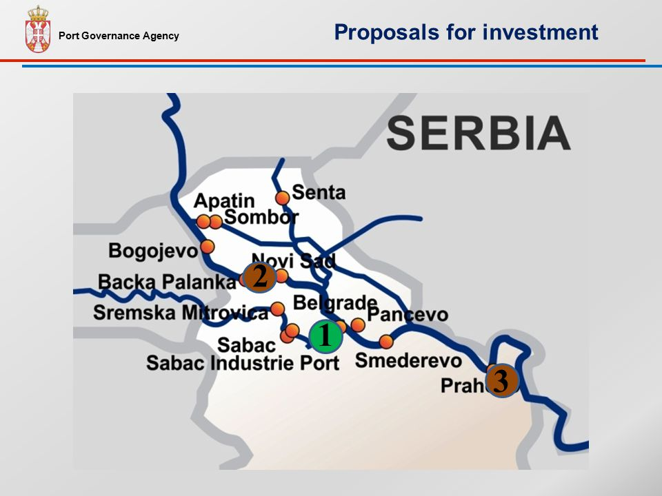1 2 3 Port Governance Agency Proposals for investment