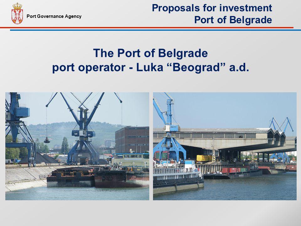 The Port of Belgrade port operator - Luka Beograd a.d.