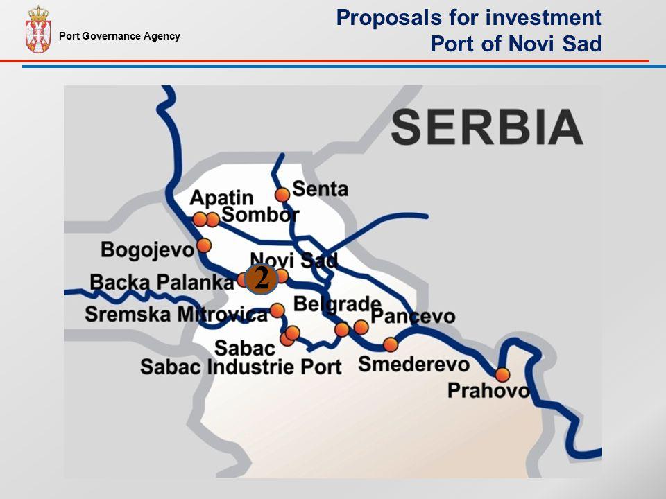 2 Port Governance Agency Proposals for investment Port of Novi Sad