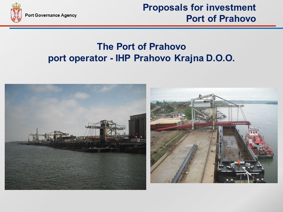 The Port of Prahovo port operator - IHP Prahovo Krajna D.O.O.