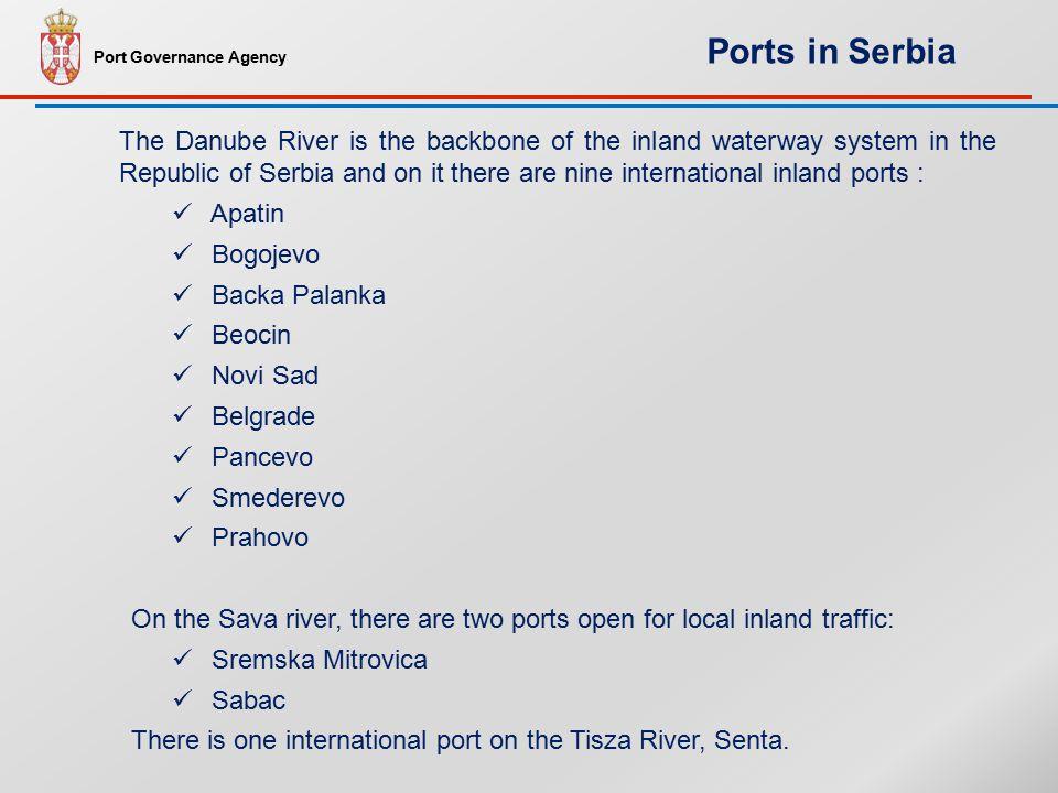 Port Governance Agency Danube waterway transport today