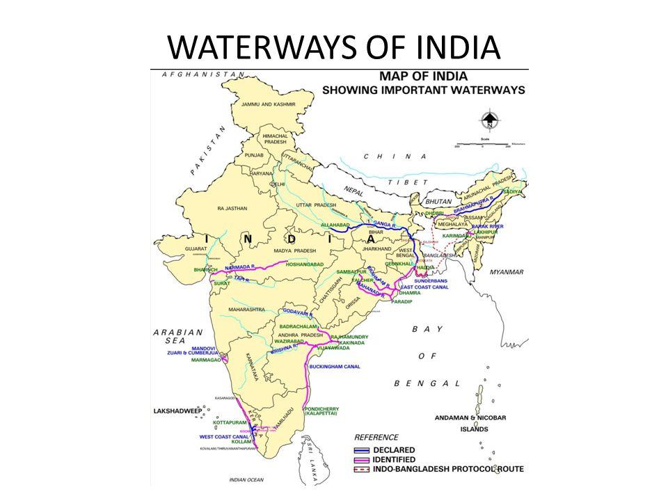 WATERWAYS OF INDIA