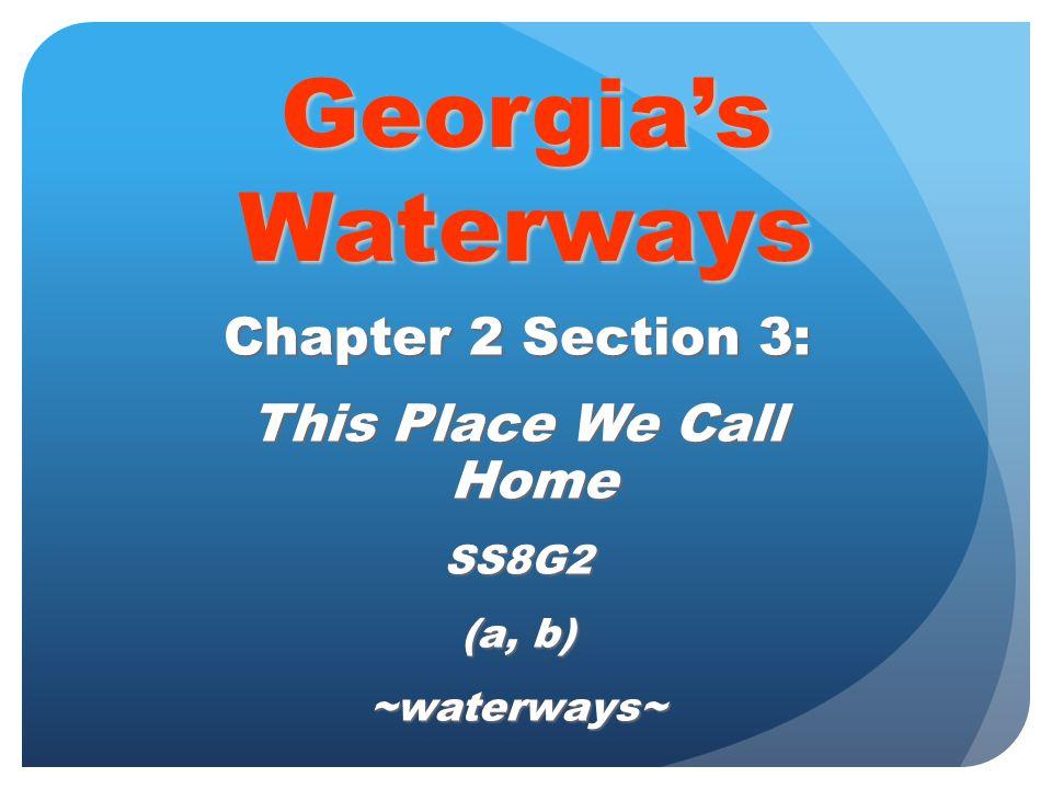 -- Atlantic Intracoastal Waterway -- Semidiurnal tides -- Estuaries -- Reservoir -- Aquifer Words to know…