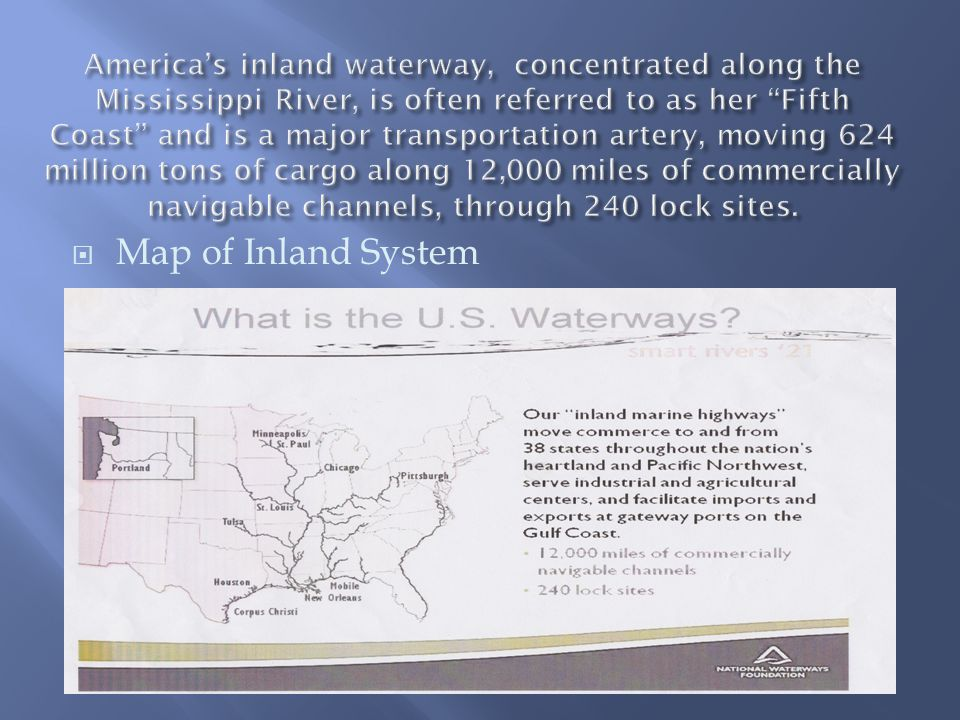  Map of Inland System