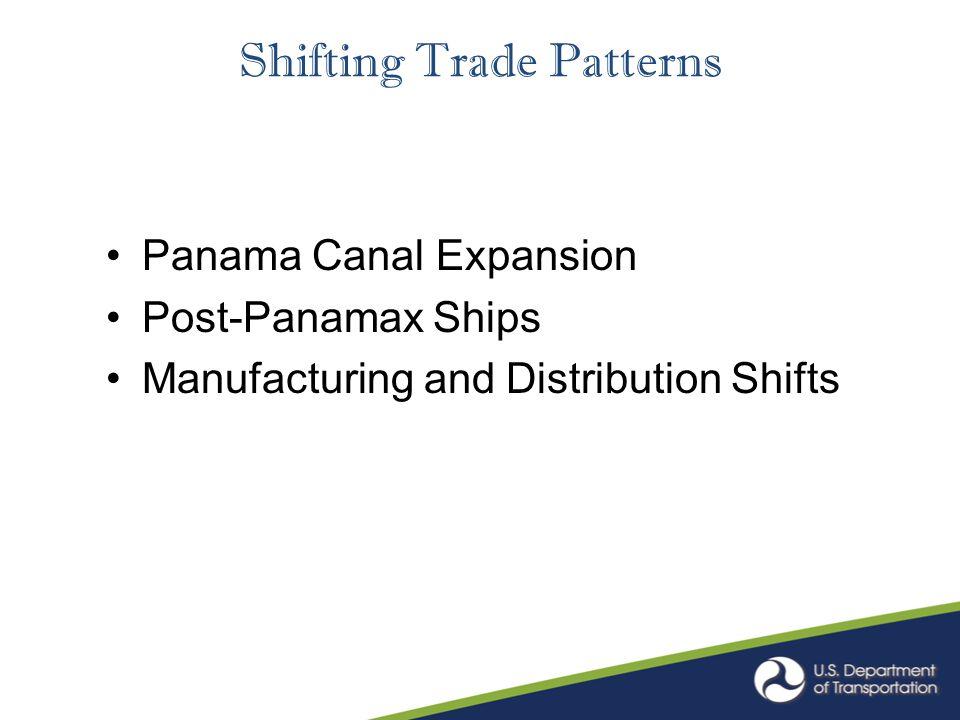 Shifting Trade Patterns Panama Canal Expansion Post-Panamax Ships Manufacturing and Distribution Shifts