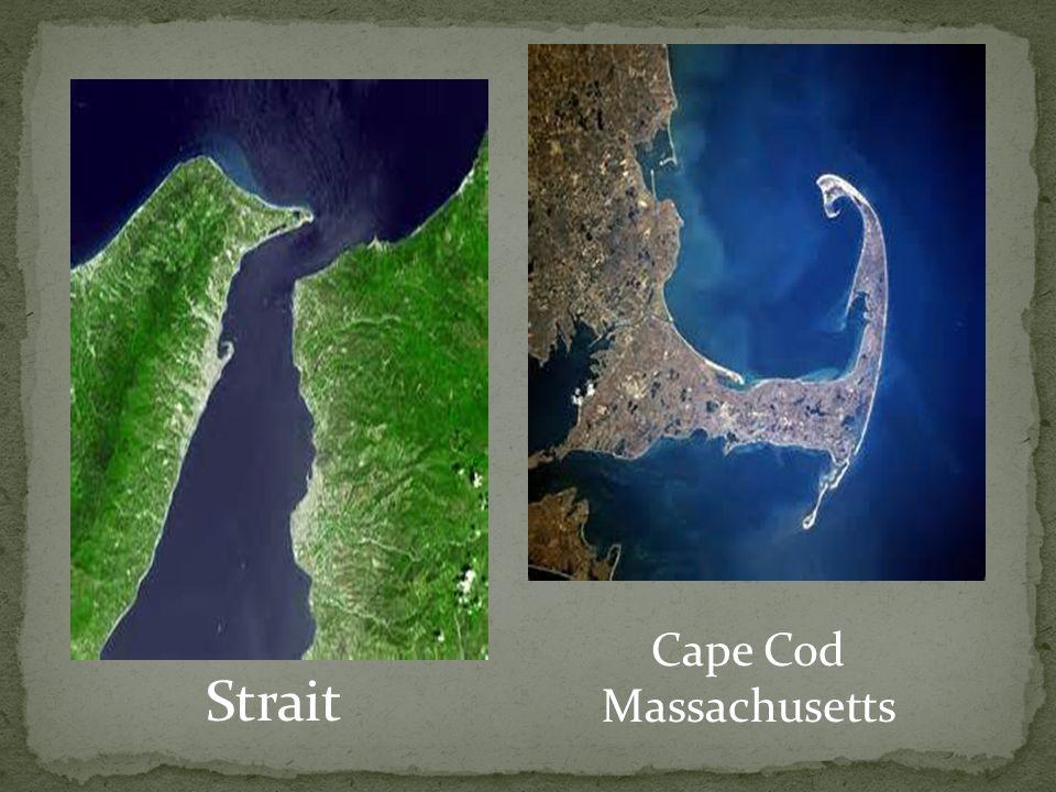 Strait Cape Cod Massachusetts