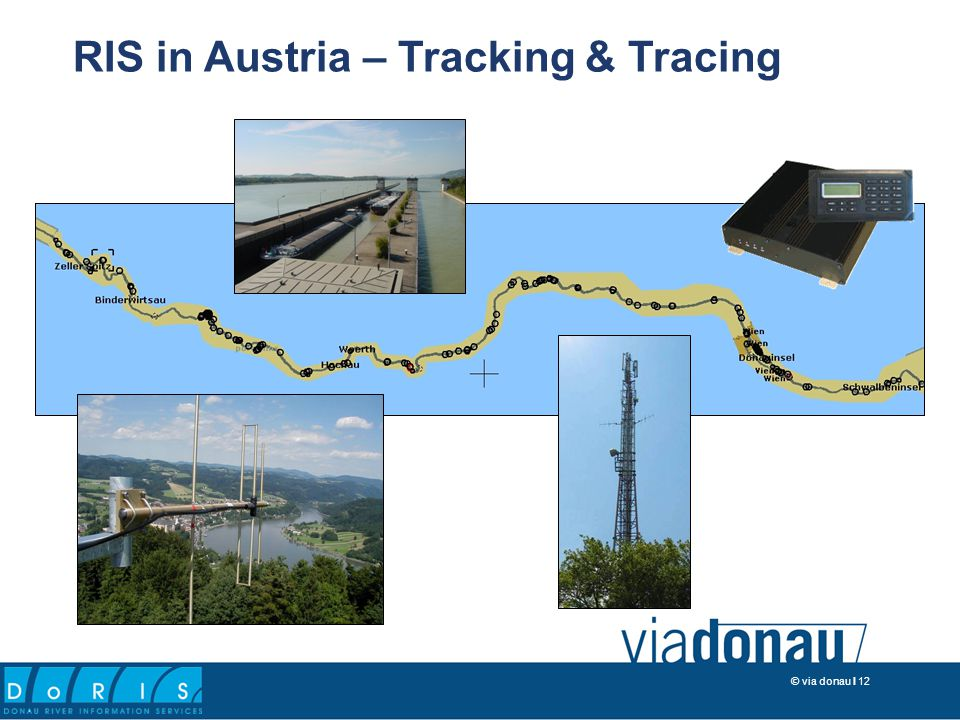 © via donau I 12 RIS in Austria – Tracking & Tracing