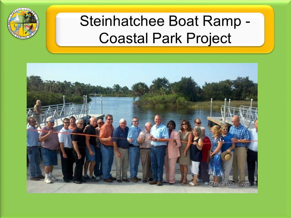 Steinhatchee Boat Ramp - Coastal Park Project