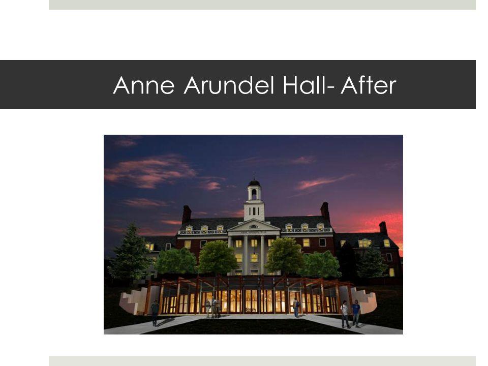 Anne Arundel Hall- After