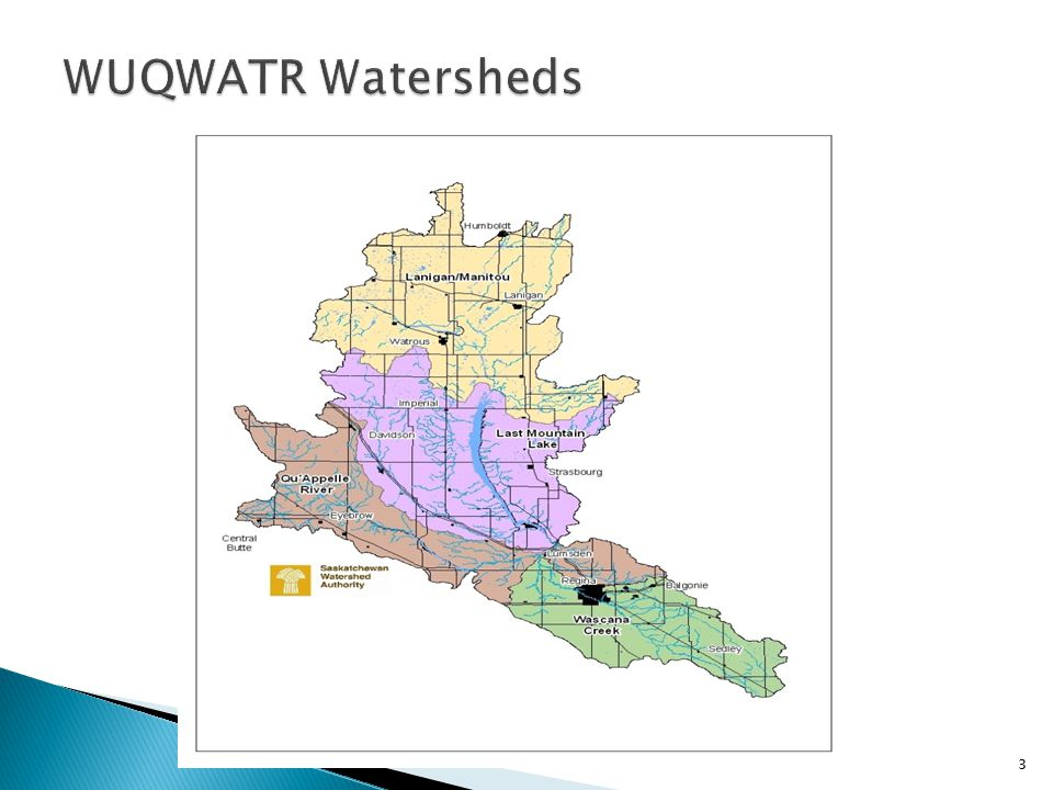  Lack of Riparian Health Assessment data in Wascana Watershed identified in 2008  Funding received for project design from Saskatchewan Watershed Authority in 2009/10  Field work was delayed by flood conditions in 2011 4