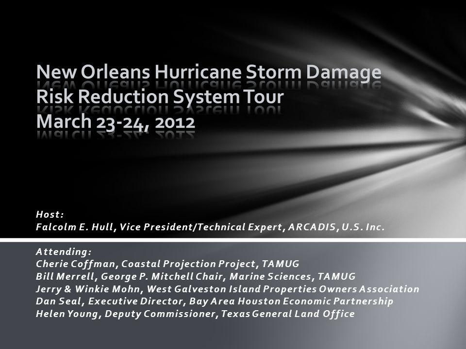 Host: Falcolm E. Hull, Vice President/Technical Expert, ARCADIS, U.S.