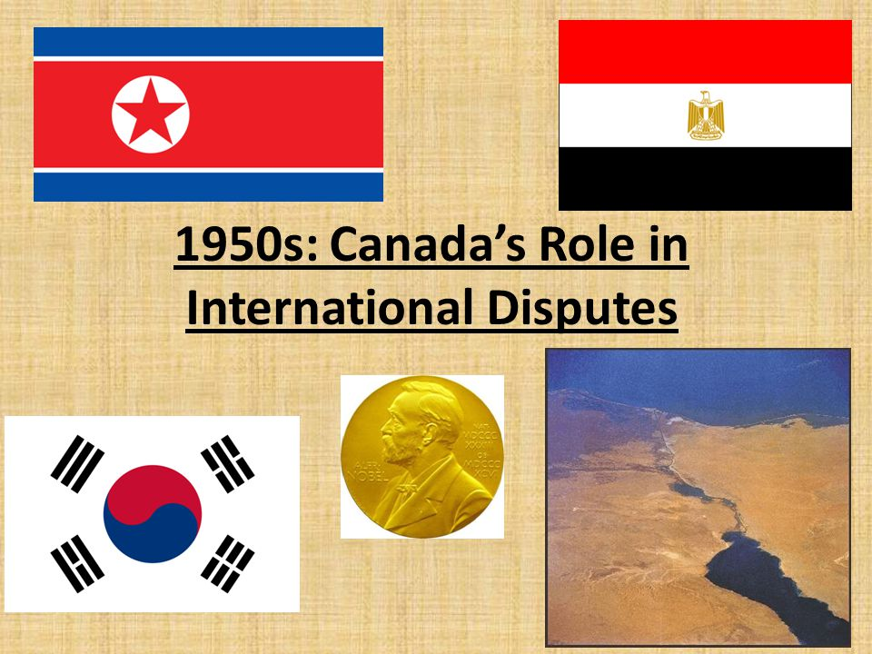 The Korean War After WWII Korea was divided into 2 states: – North Korea (communist) under USSR – South Korea (democratic) under USA On June 25 th, 1950, North Korea invaded South Korea This added further pressure on Canada to build up its armaments.