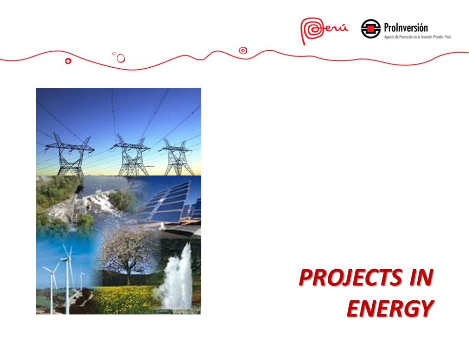 PROJECTS IN ENERGY
