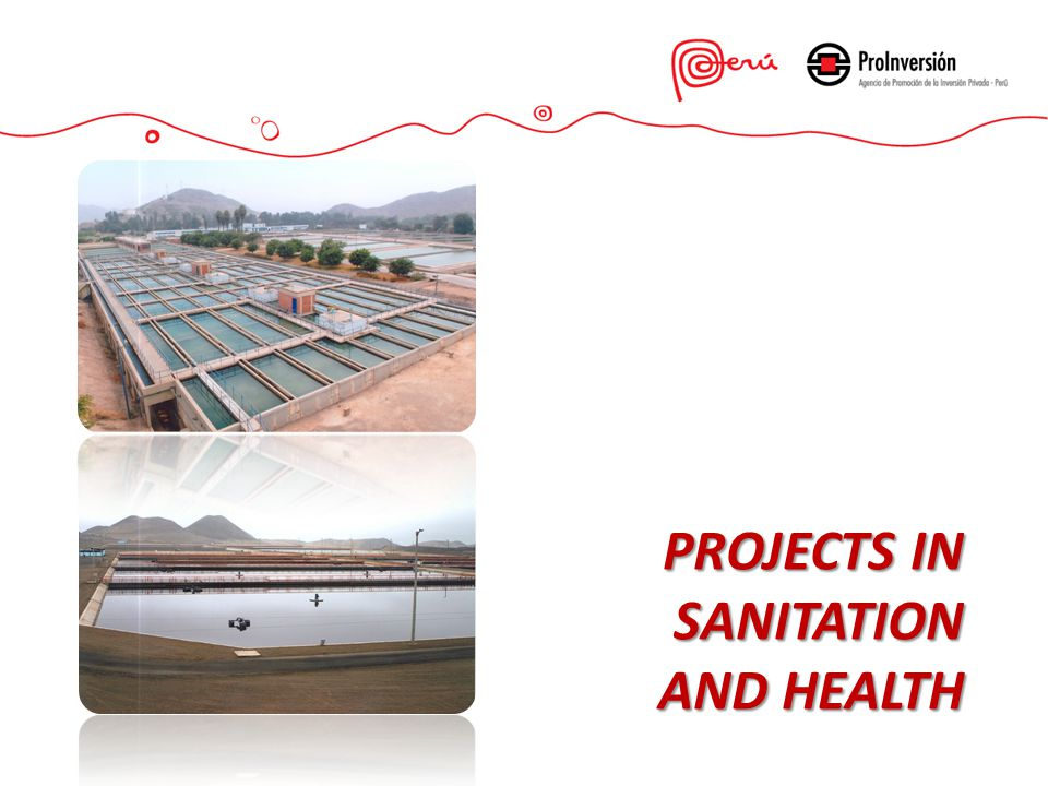 PROJECTS IN SANITATION AND HEALTH