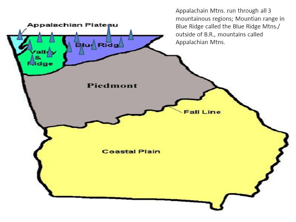 Appalachain Mtns.