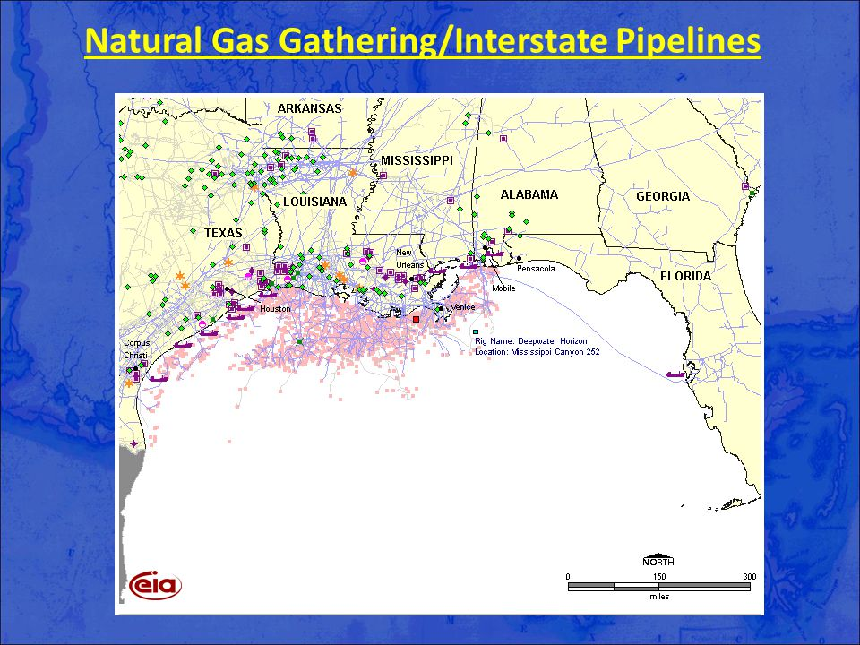 Natural Gas Gathering/Interstate Pipelines