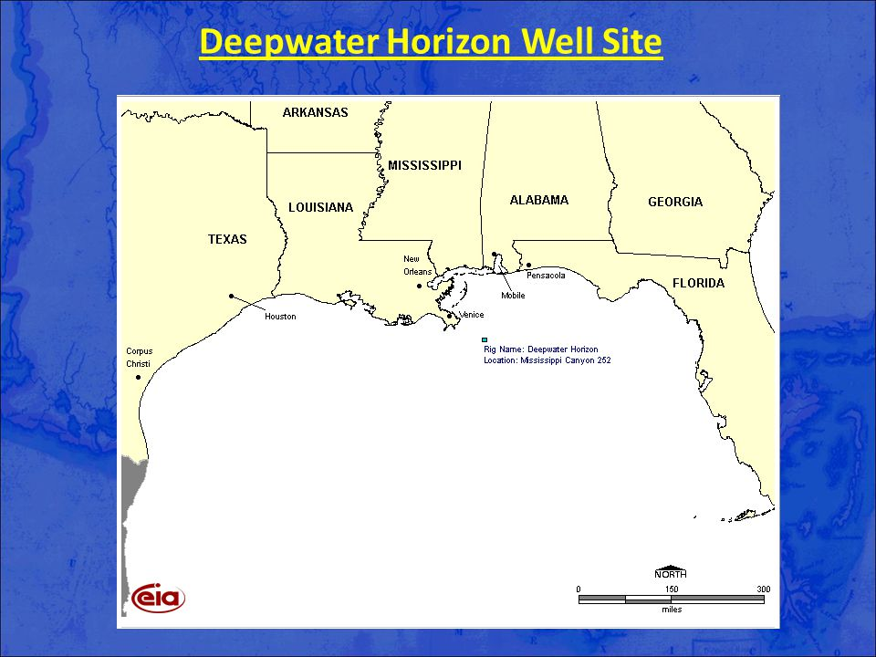 Deepwater Horizon Well Site