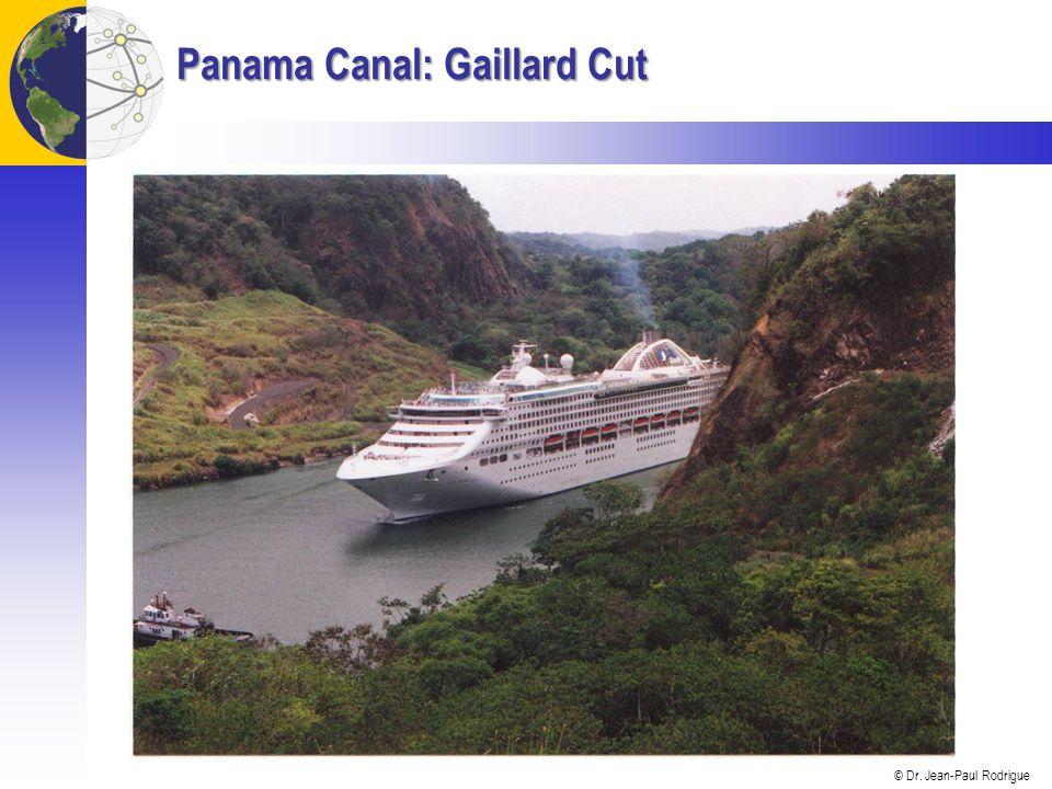 © Dr. Jean-Paul Rodrigue Panama Canal: Gaillard Cut