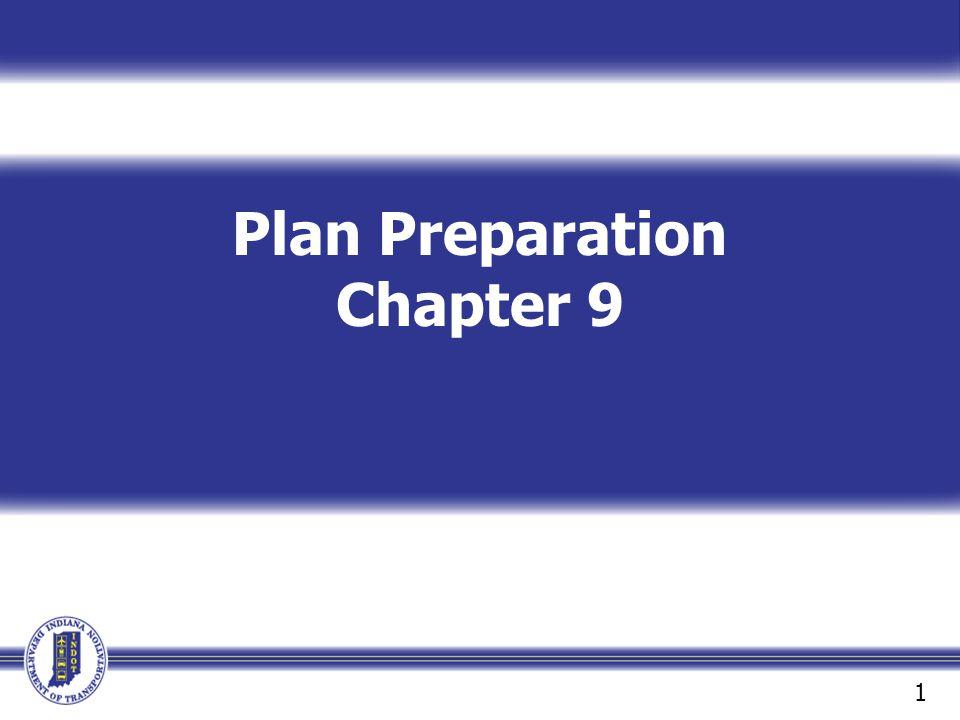 Plan Preparation Chapter 9 1