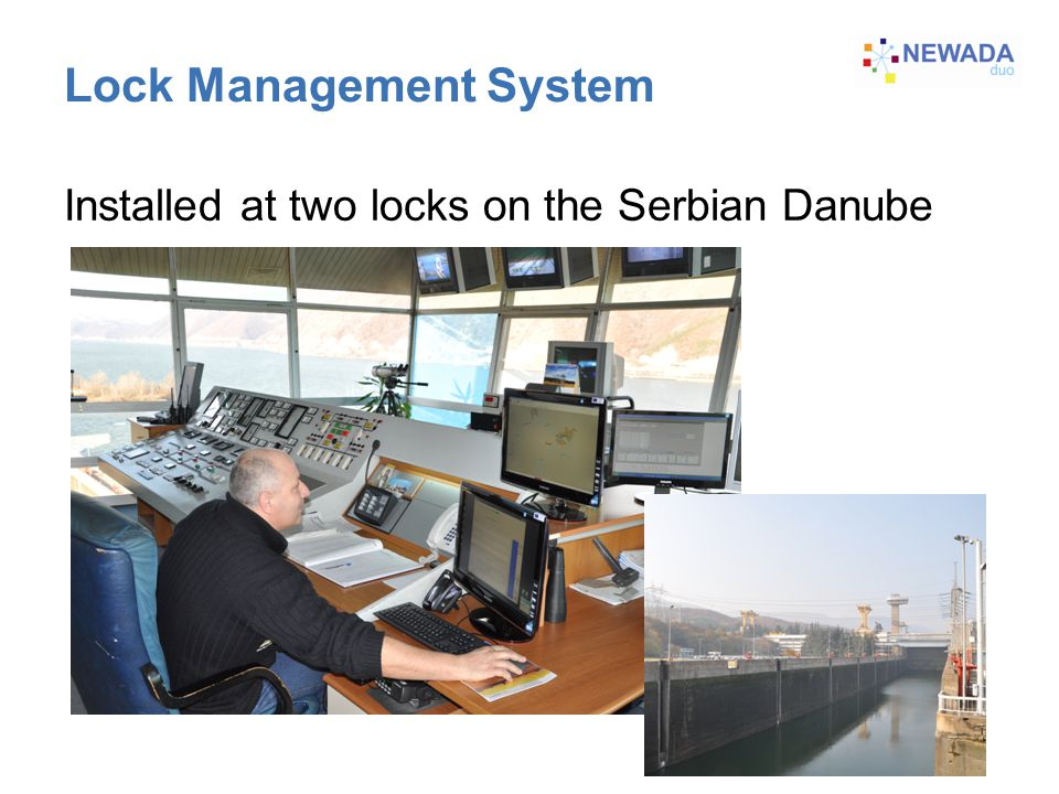 Lock Management System Installed at two locks on the Serbian Danube