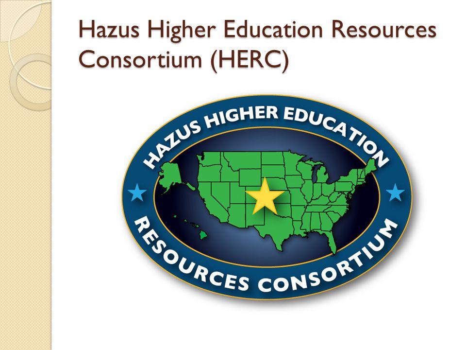 Hazus Higher Education Resources Consortium (HERC)