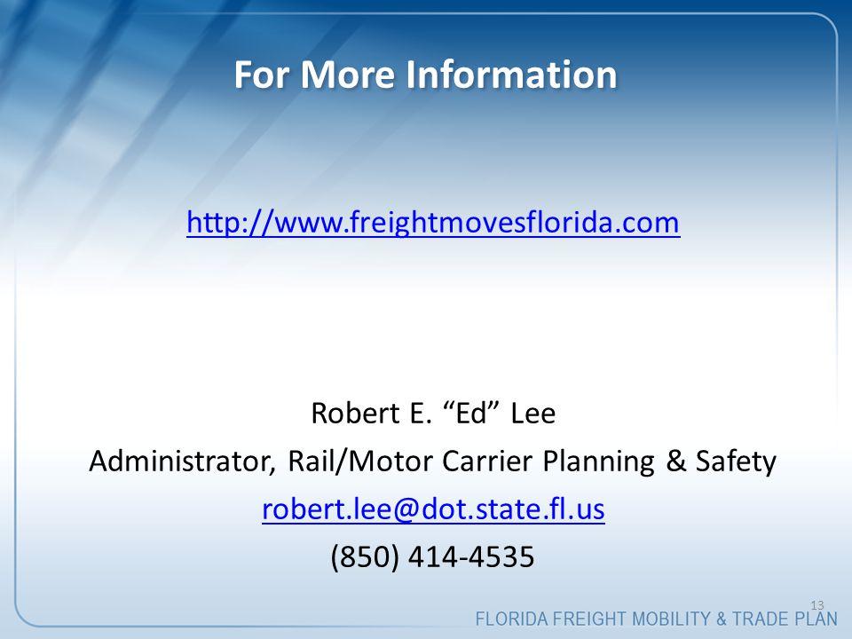 http://www.freightmovesflorida.com Robert E.