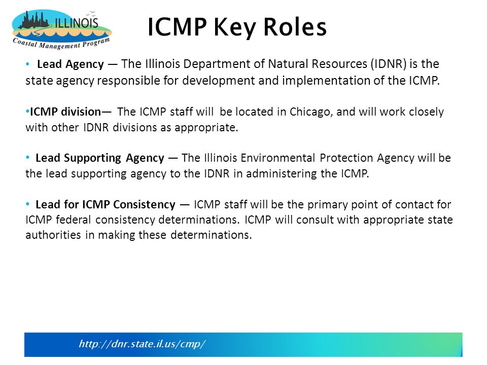 http://dnr.state.il.us/cmp/ Technical Advisory Committee (TAC) The TAC will provide the forum for state agency input, consistency review, and coordination with other state or local agencies on projects or issues which could have an effect on land and water resources within the coastal zone.