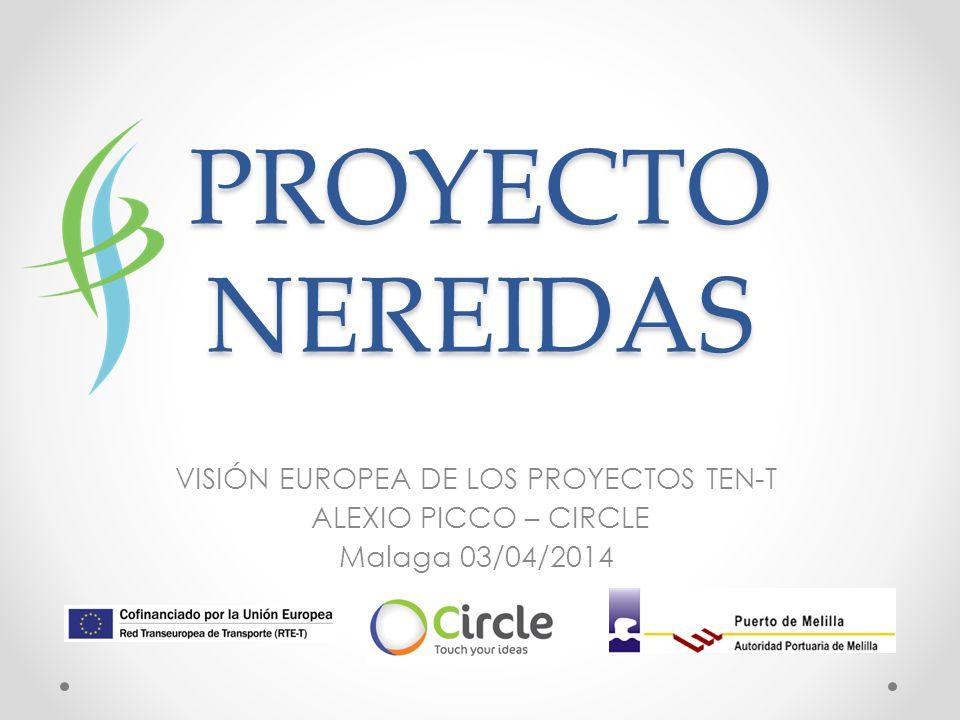 PROYECTO NEREIDAS VISIÓN EUROPEA DE LOS PROYECTOS TEN-T ALEXIO PICCO – CIRCLE Malaga 03/04/2014