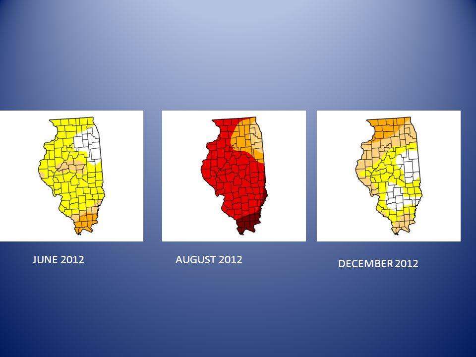 AUGUST 2012 DECEMBER 2012 JUNE 2012