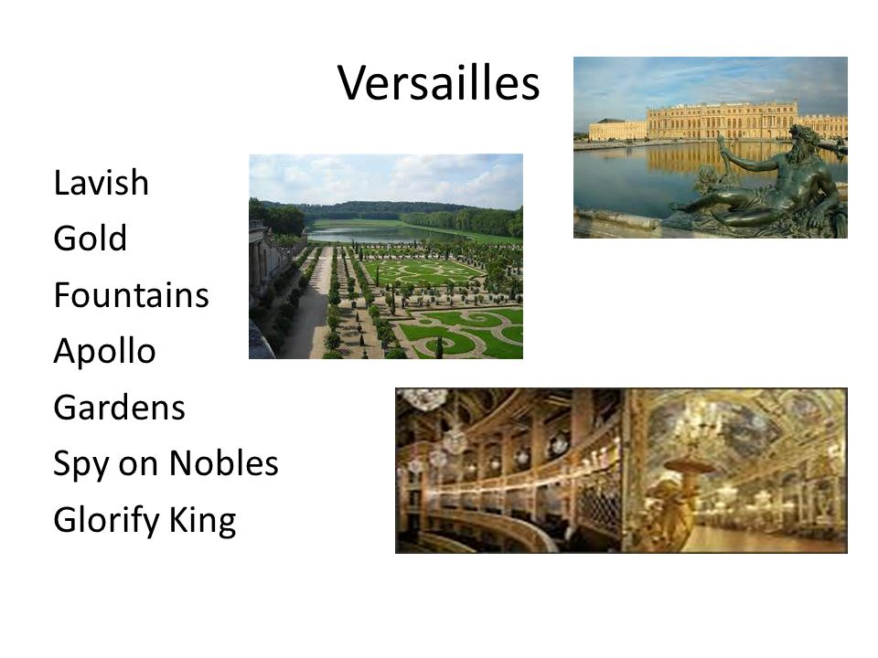 Versailles Lavish Gold Fountains Apollo Gardens Spy on Nobles Glorify King