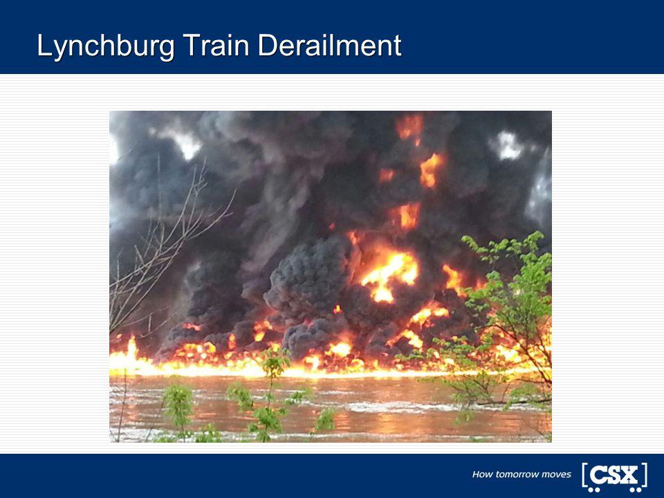 Lynchburg Train Derailment