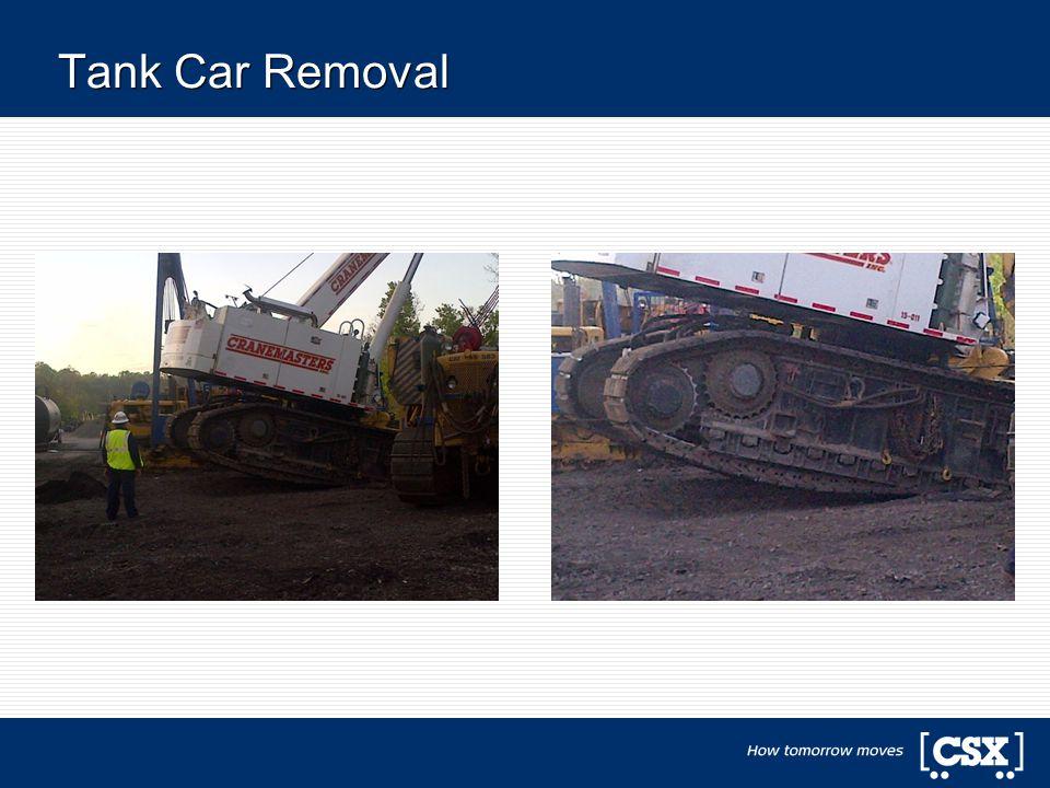 Tank Car Removal