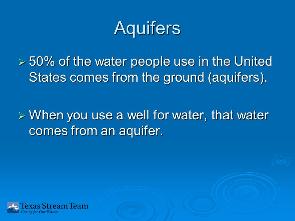 Water types  Water on the surface of the earth is called surface water.