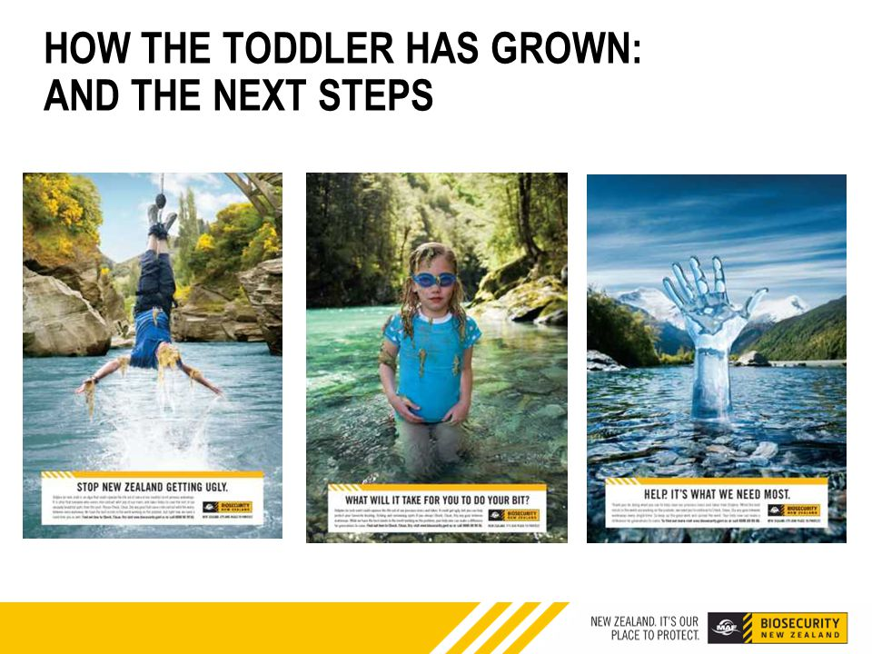 HOW THE TODDLER HAS GROWN: AND THE NEXT STEPS
