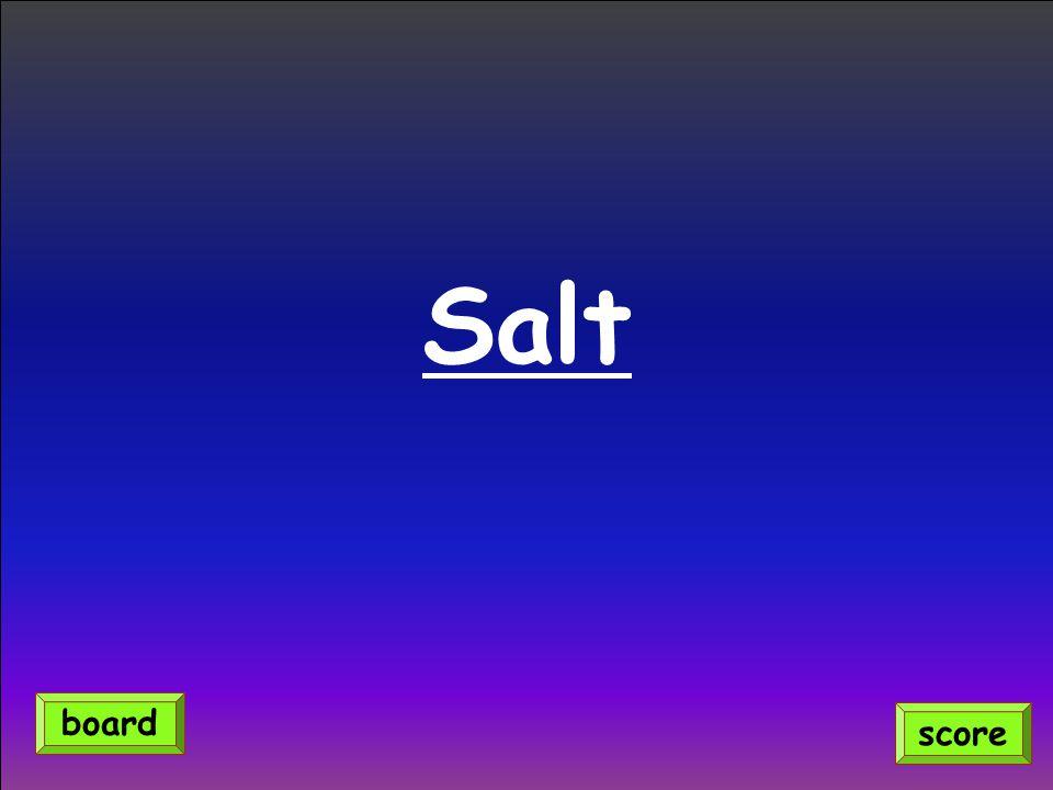 Salt score board