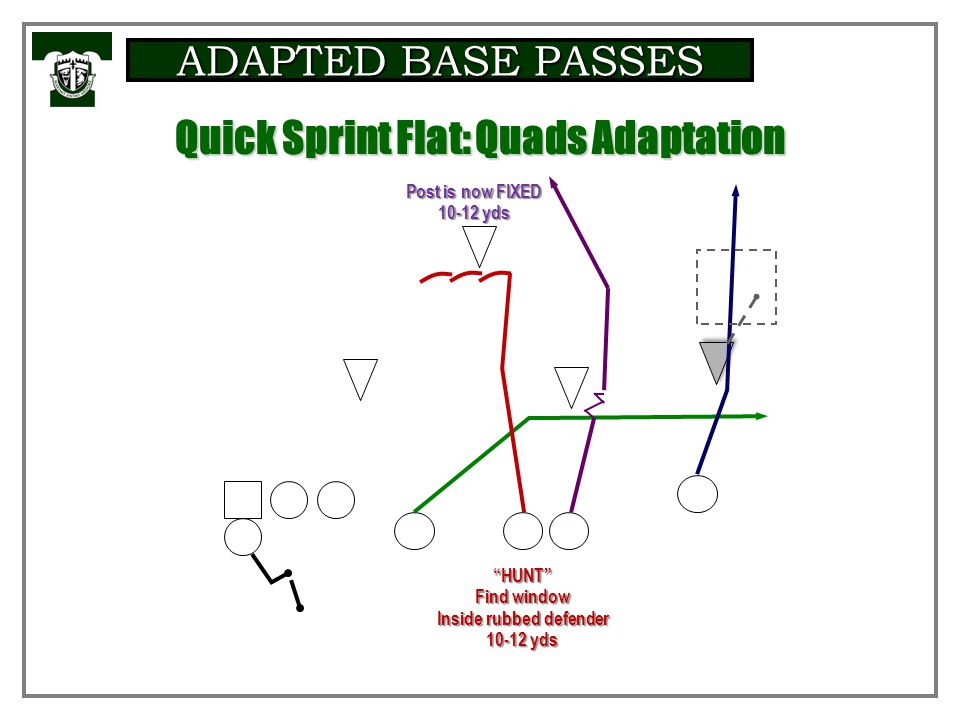 ADAPTED BASE PASSES Base Protectio n Summar y Table Quick Sprint Flat: Base Rules
