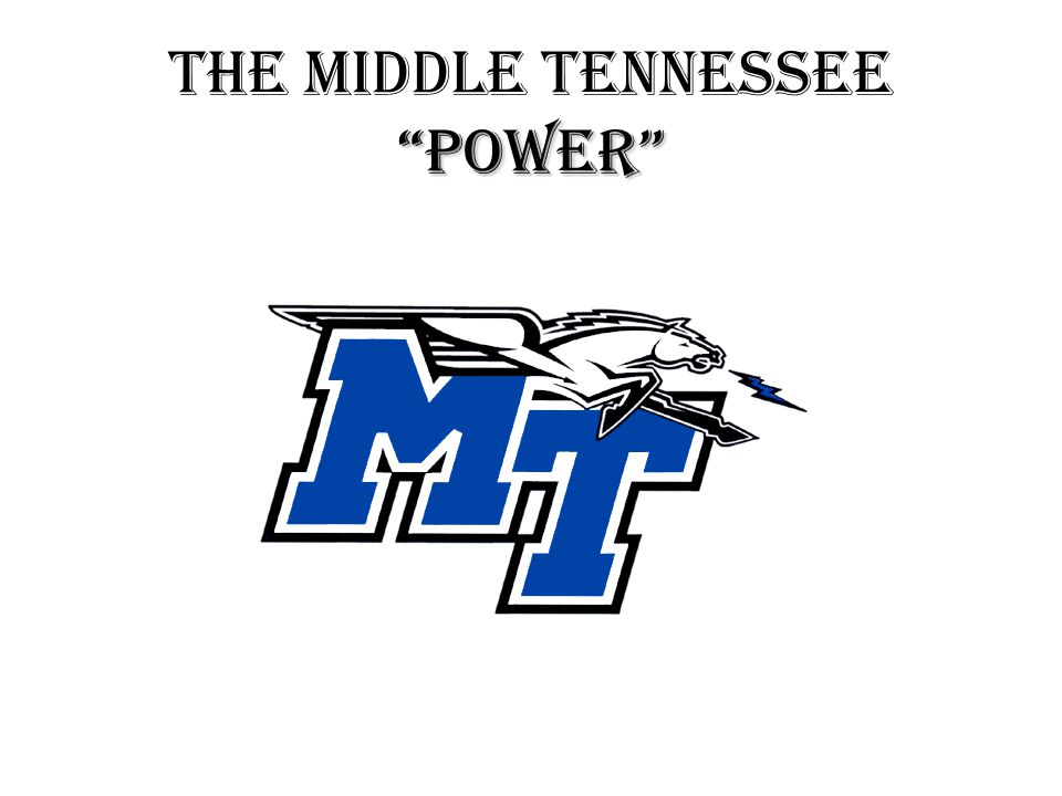 POWER THE MIDDLE TENNESSEE POWER
