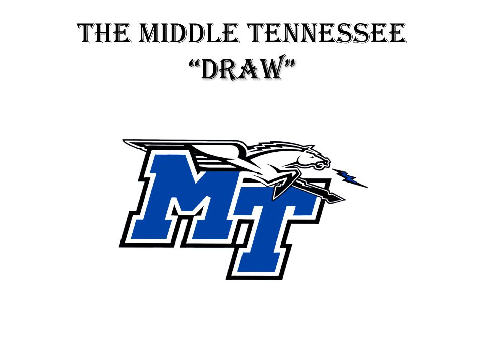 DRAW THE MIDDLE TENNESSEE DRAW