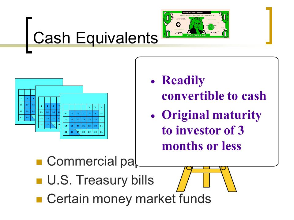 Cash Management Necessary to ensure company has neither too little nor too much cash on hand l Tools: Õ Cash Flows Statement Õ Bank Reconciliations Õ Petty Cash Funds