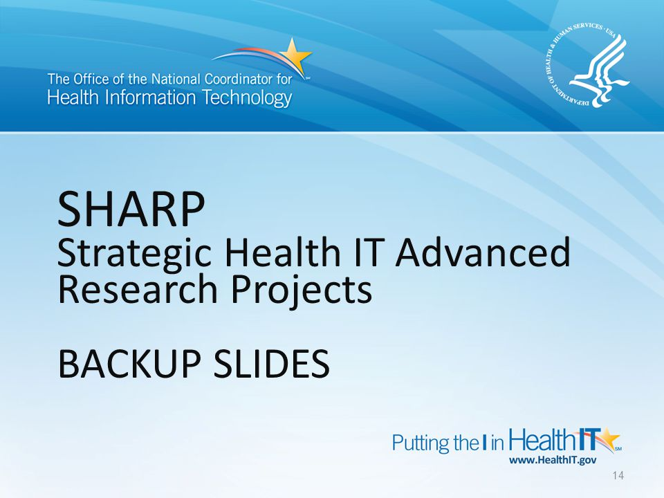 Strategic Healthcare IT Advanced Research Projects on Security (SHARPS) The University of Illinois at Urbana-Champaign, leads a multi-institutional and multi- disciplinary team to advance the requirements, foundations, design, development, and deployment of security and privacy tools and methods.