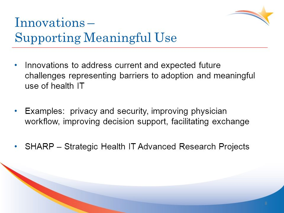 Simultaneous Pursuit of Triple Aim – –Better Care –Better Health –Lower Cost through Continuous Quality Improvement Improving partnerships with individuals and families, redesign of primary care, population health management, financial management, and macro system integration New care delivery and payment models Innovations – Supporting Health Reform 9