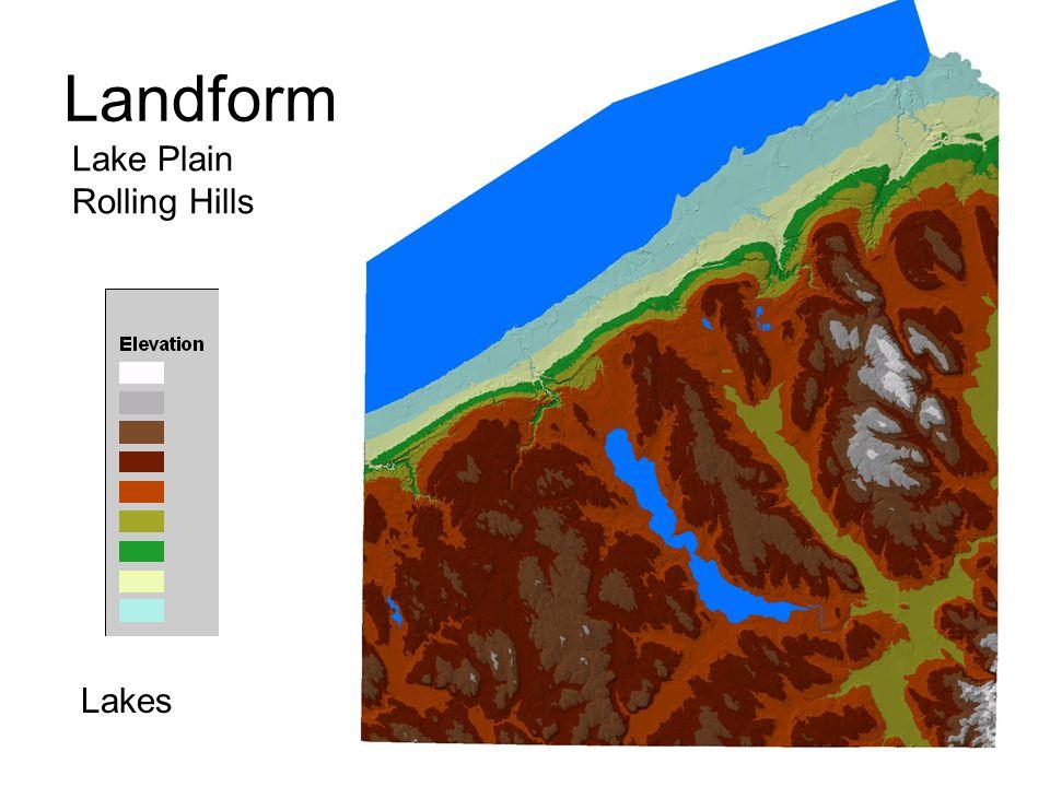 Landform Lake Plain Rolling Hills Lakes