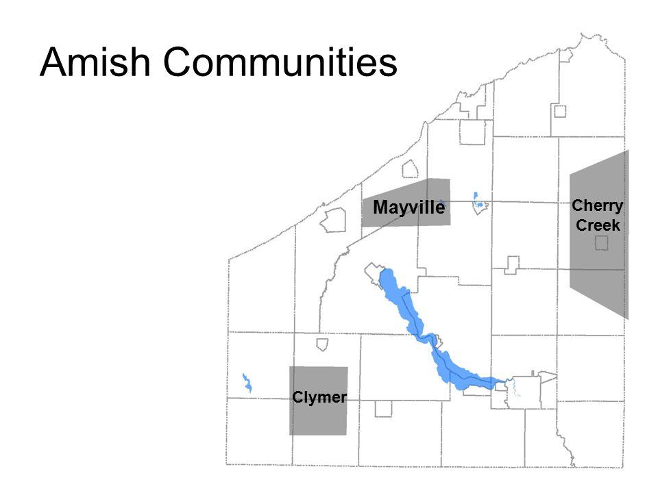 Amish Communities Mayville Cherry Creek Clymer