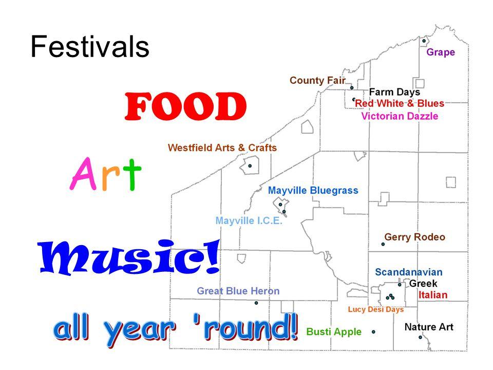 Festivals ArtArt FOOD Music!