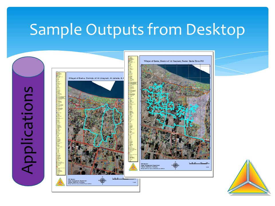Sample Outputs from Desktop Applications