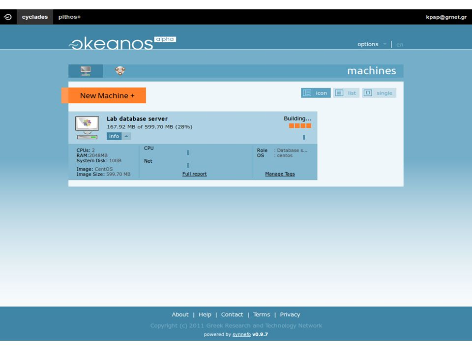 GRNETDeIC konference 201272 vkoukis@grnet.gr| 20121112